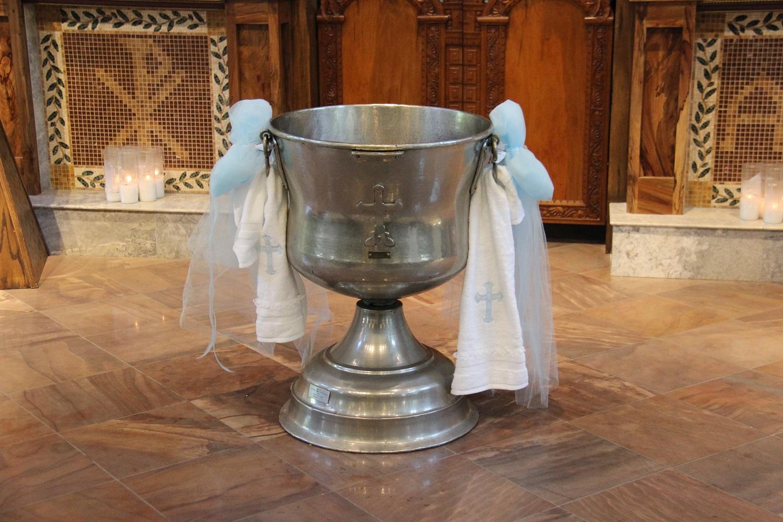 Baptismal Font Decorations κολυμπήθρα