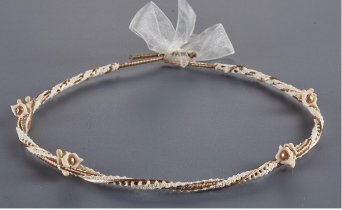 Orthodox Wedding Crowns, Stefana (Floral)