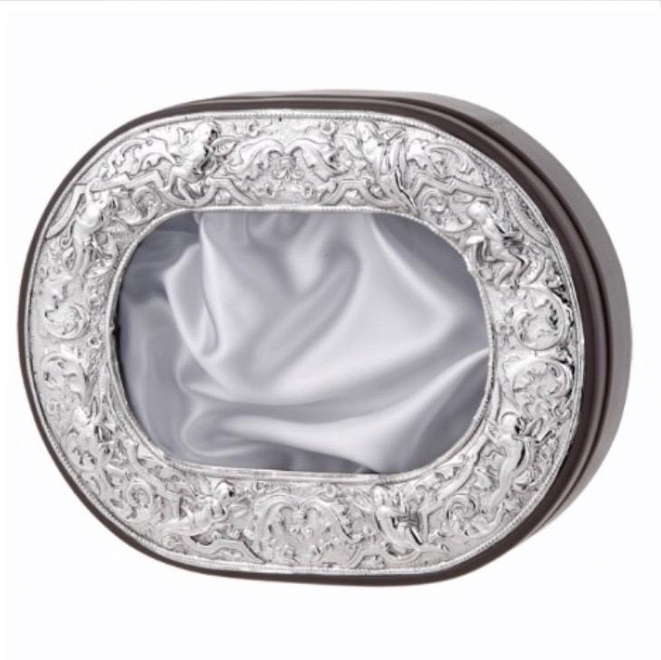 Wedding Crowns (Stefana) Silver Stefanothiki Shadow Box