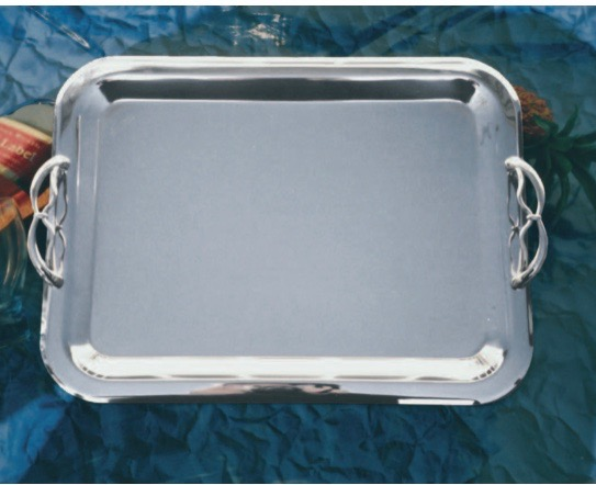 European Silver Wedding Tray