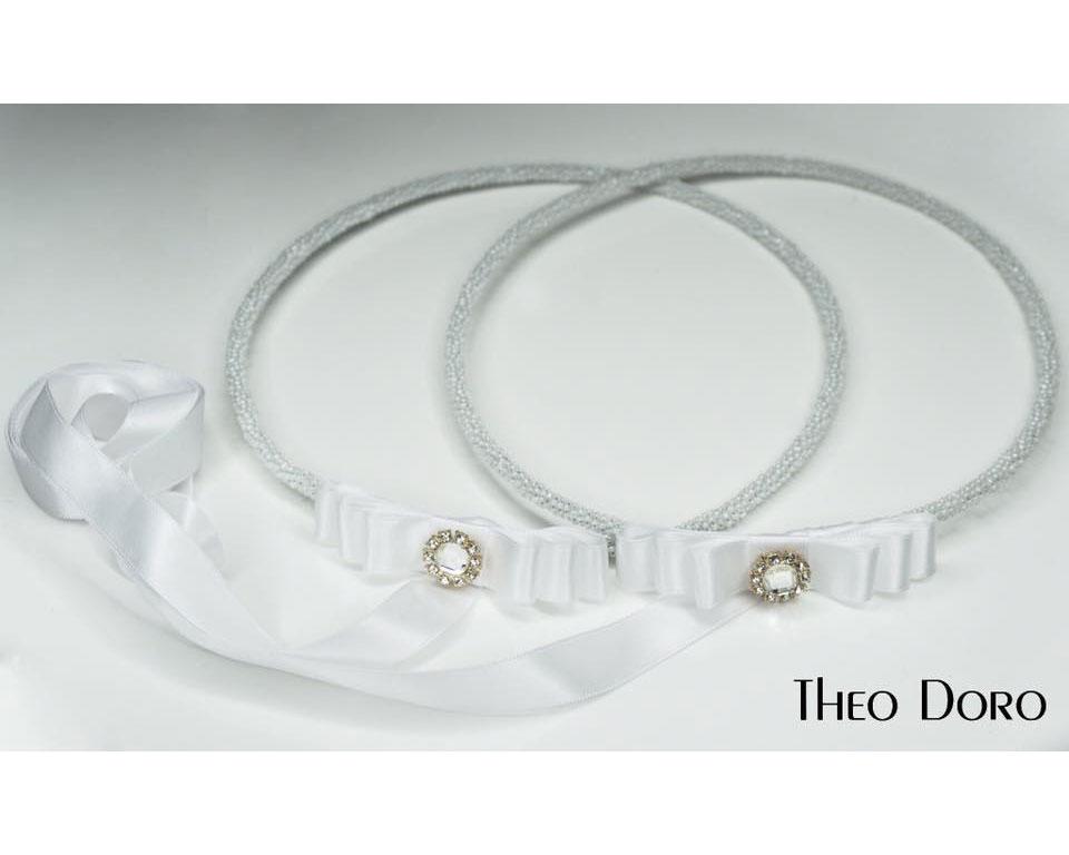 Orthodox Wedding Crowns, Stefana (Pearl)