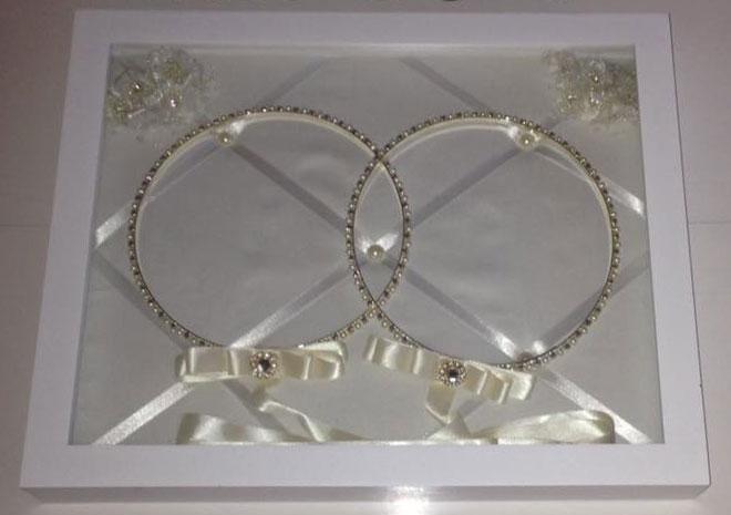 Wedding Crowns (Stefana) Shadow Box